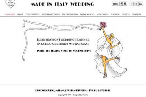 Made in Italy Wedding